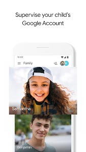 screenshot of Google Family Link for parents version 1.42.0.W.258192683