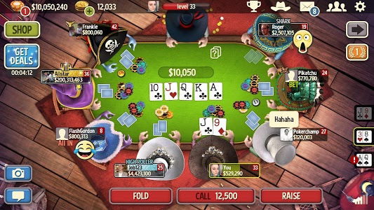 screenshot of Governor of Poker 3 - Texas Holdem Casino Online version 4.5.7