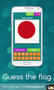 screenshot of Guess the flag version 3.1.9z