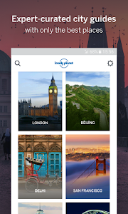 screenshot of Guides by Lonely Planet version 2.0.0.358