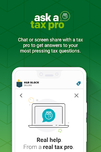 screenshot of H&R Block Tax Prep and File version 8.5.0