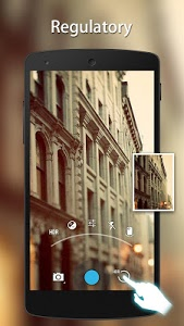screenshot of HD Camera version 1.9.3