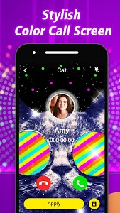 screenshot of HD Color Phone Call-Colorful Calling Screen version 1.0.33