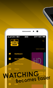 screenshot of HD Movies free - Watch Movies New Movies version 4.6