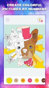 screenshot of Happy Color By Number version 1.0.10