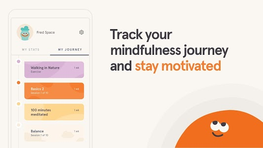 screenshot of Headspace: Meditation & Sleep version 3.43.0