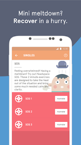 screenshot of Headspace - meditation version Varies with device