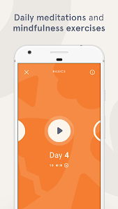 screenshot of Headspace: Guided Meditation & Mindfulness version 3.1.1