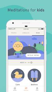 screenshot of Headspace: Meditation & Mindfulness version 3.6.4