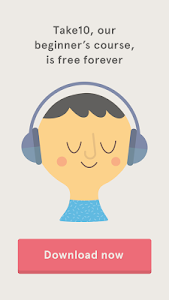 screenshot of Headspace - meditation version 2.0.8