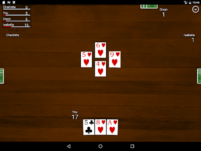 screenshot of Hearts Card Classic version 1.8