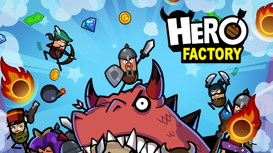 screenshot of Hero Factory - Idle Factory Manager Tycoon version 2.1.5