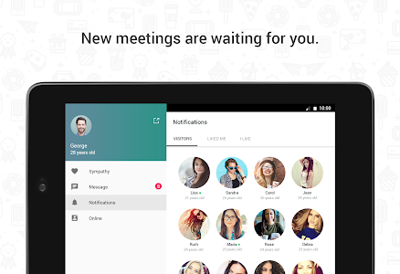 screenshot of Hitwe - meet people and chat version 4.3.4