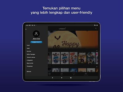 Download Vision+ : Nonton TV & Film Streaming 4.4.1 APK ...