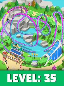 screenshot of Idle Theme Park Tycoon - Recreation Game version 2.2.2