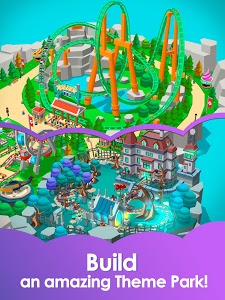 screenshot of Idle Theme Park Tycoon - Recreation Game version 1.00