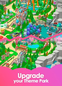 screenshot of Idle Theme Park Tycoon - Recreation Game version 1.24