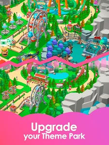 screenshot of Idle Theme Park Tycoon - Recreation Game version 1.23