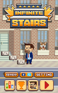 screenshot of Infinite Stairs version 1.0.18