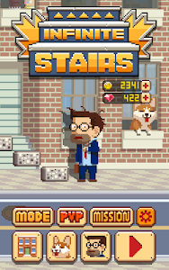 screenshot of Infinite Stairs version 1.2.1