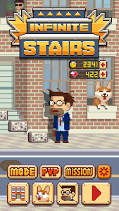 screenshot of Infinite Stairs version 1.2.38