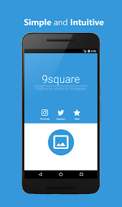 screenshot of 9square for Instagram version 4.00.08