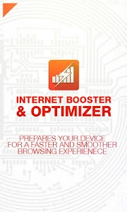 screenshot of Internet Booster & Optimizer version 1.95b