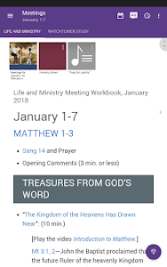 screenshot of JW Library version 11.2.1