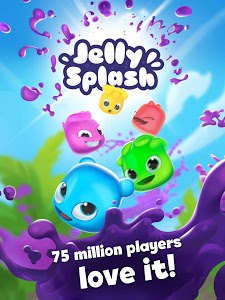 screenshot of Jelly Splash Match 3: Connect Three in a Row version 3.39.1
