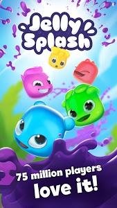 screenshot of Jelly Splash Match 3: Connect Three in a Row version 3.40.0
