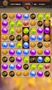 screenshot of Jewel Balls Match 3 Game version 1.9