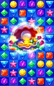 screenshot of Jewels Track - Match 3 Puzzle version 5.7.5002