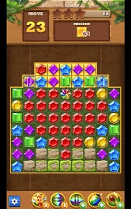 screenshot of Jungle Gem Blast: Match 3 Jewel Crush Puzzles version 4.0.0