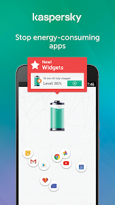 screenshot of Kaspersky Battery Life: Saver & Booster version 1.8.4.1347