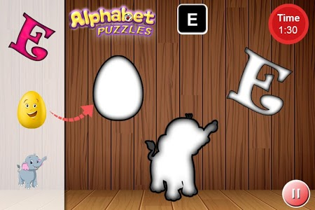 screenshot of Kids ABC Alphabet Animal Vehicle Puzzle Game version 1.0