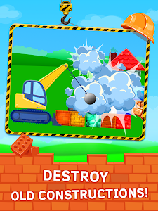 screenshot of Construction Game Build with bricks version 3.0.22