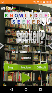 screenshot of Knowledge Seeker version 1.0