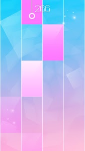 screenshot of Kpop piano tiles bts version 1.18