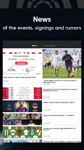 screenshot of La Liga Live Soccer Scores, Stats, News Highlights version 7.2.2