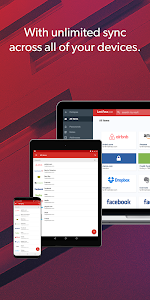 screenshot of LastPass Password Manager version Varies with device