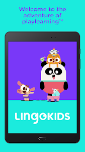 screenshot of Lingokids - The playlearning™ app in English version 7.25.0