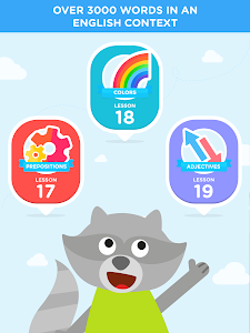 screenshot of LINGOKIDS - English for kids version 3.2.0