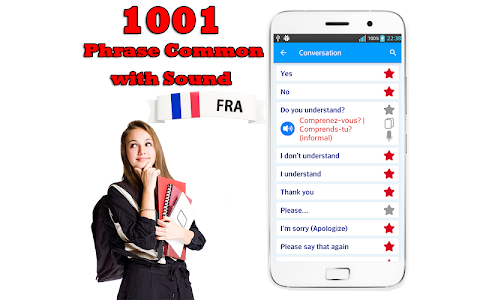 screenshot of Learn French Language Offline version 1.9