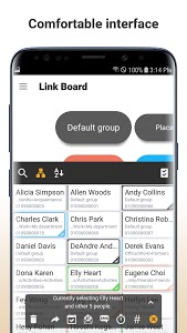 screenshot of LinkAid - contacts & call manager (Link Aid) version 1.1.4