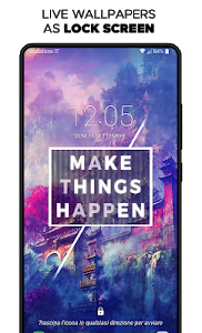 screenshot of Live Wallpapers HD & Backgrounds 4k/3D - WALLOOP™ version 8.9
