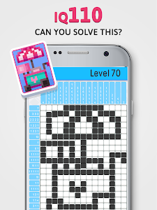 screenshot of Logic Pic - Picture Cross & Nonogram Puzzle version 2.26