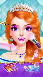 screenshot of Hair Salon - Princess Makeup version 2.9.3967