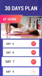 screenshot of Lose Belly Fat in 30 Days - Flat Stomach version 1.2.5
