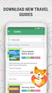 screenshot of MAPS.ME – Offline maps, travel guides & navigation version 9.5.2-Google