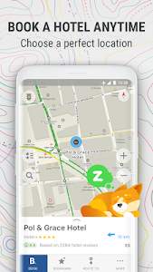 screenshot of MAPS.ME – Offline Map and Travel Navigation version 8.3.6-Google